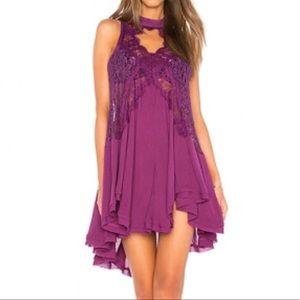 NWT Free People Lace Midi Dress XSmall